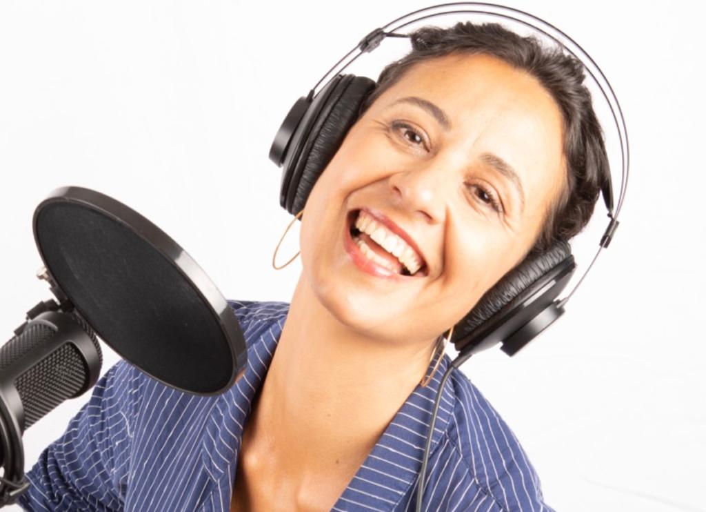 Marilena Dimai Sprecherin für Erklärvideos und Spots